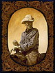 """Curtis"" is a canvas print by L.D. Edgar of Western Heritage Studio in Cody Wyoming"