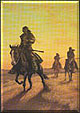 Ill Wind at Three Forks by L.D. Edgar, Western Heritage Studio, Cody Wyoming