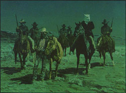 """The Night Riders of Nowood"" by L.D. Edgar, Western Heritage Studio, Cody Wyoming - Historically correct Wyoming artwork including prints and bronzes"